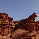 Sabbah's route - départ tranquille