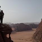 Sabbah's route - on profite de la vue de folie