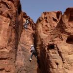 Sabbah's route - Un peu de grimpette par endroit