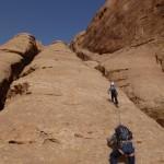 Sabbah's route - Lorsque le guide craque, petit ibex prend le relais!