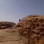 Sabbah's route - On file au sommet