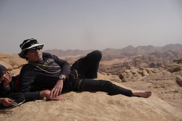 Jebel Khush Khashah et descente du canyon de Khazali