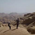 Sabbah's route - Petit ibex récalcitrant