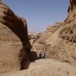 Descente Khazali canyon - Le haut du canyon