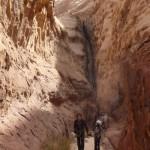 Descente Khazali canyon - Après le premier rappel