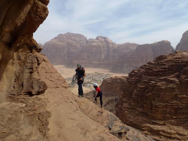 Rijm Assaf - Crapahutage sur fond de Wadi Rum