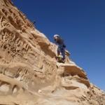 Rijm Assaf - Derniers passgaes de grimpe avant le sommet