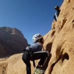 Ocean's slabs - Courts passages de grimpe au début