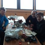 Refuge d'Argentière - Un léger casse-croûte