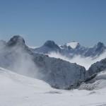La Grave - Vu sur les Rouies depuis le Col de la Lauze