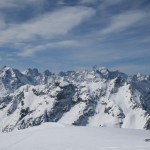 Tête Colombe - Démonstration de ski