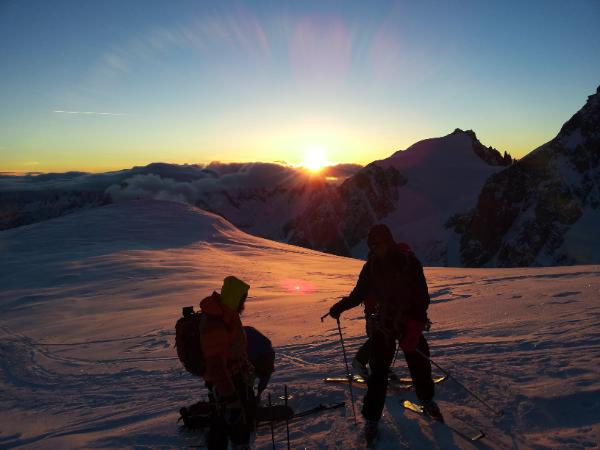 Mont-Blanc par les Grands Mulets
