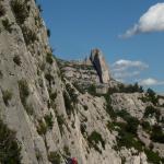 Calanques - Vue sur la Candelle