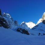 Couloir Pic sans nom - Le Glacier noir Patagoniesque