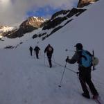 Sur le glacier Blanc