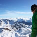 Pic du Glacier d'Arsine - C'est bien une corniche