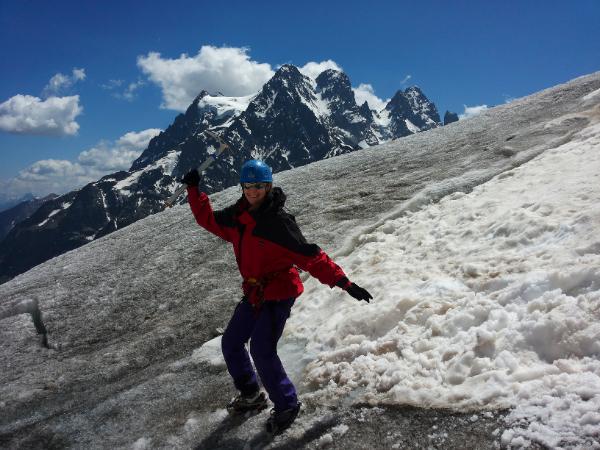 Ecole de glace… sans crampons!