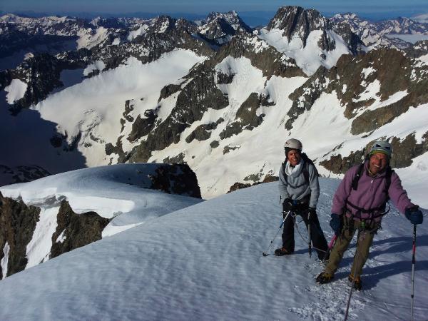 Ailefroide Orientale - Non loin du sommet