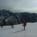 Traversée du Pelvoux - Sur le Glacier des Violettes