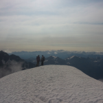 Traversée du Pelvoux - Vers la fin du Glacier