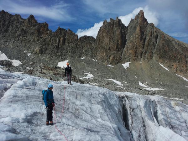 Sur le Glacier d'Orny