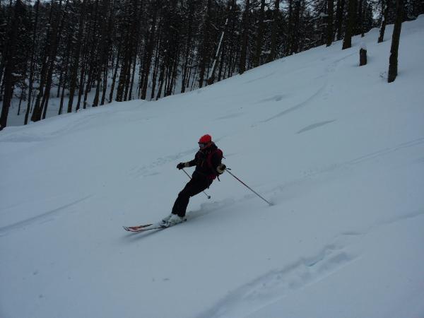 Initiation ski de rando à la Cochette