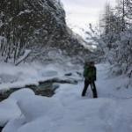 Initiation cascade de glace - But matinal - En ces périodes je préfère l'eau solide