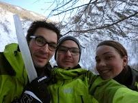 Week-end cascade de glace et popow!