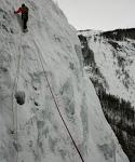 Initiation cascade de glace - Paulo Folie - Faut faire le ménage