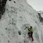 Initiation cascade de glace - Paulo Folie - Jérôme se fait des petites variantes