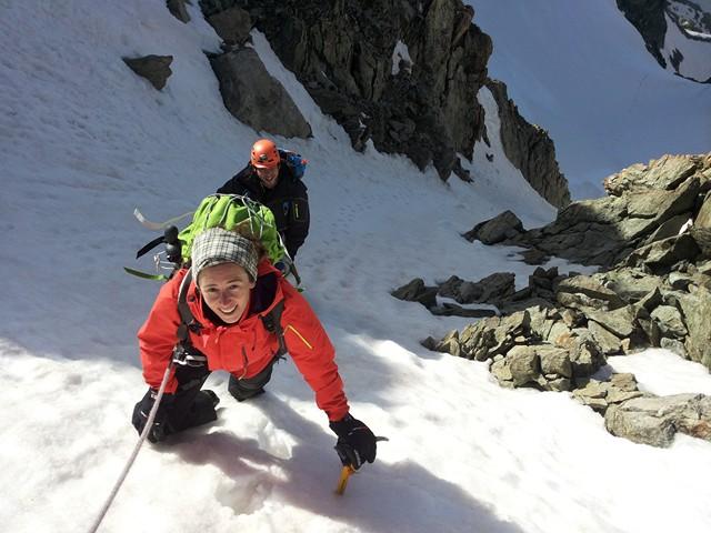 Initiation à l'alpinisme, c'est reparti!