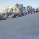 Grand angle à la montée vers le Pic d'Arsine