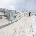 Découvert du Glacier Blanc