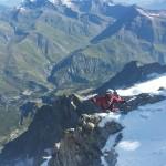 Meije - Z - Sylvain débarque au Grand Pic