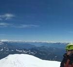 Mont-Blanc - Panorama du sommet