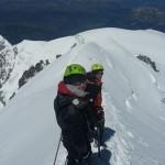 Mont-Blanc - Sur l'arête des Bosses