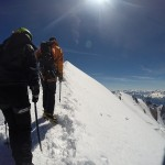 Mont - Blanc - ON finit par y arriver