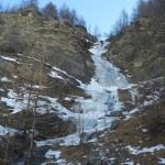 Initiation cascade de glace - Chambran - Descente en rappel