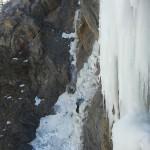 Initiation cascade de glace - Chambran - La cordée derrière nous