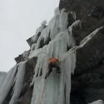 Cascade de glace - Périphérique ouest