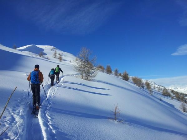 Ski de rando Crévoux – La Ratelle