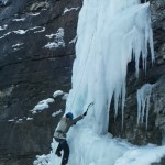 Cascade de glace - Cervières - Cascade du Bourget