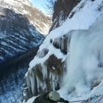 Cascade de glace - Fresinières - Paulo Folie - Tom assure Ségo