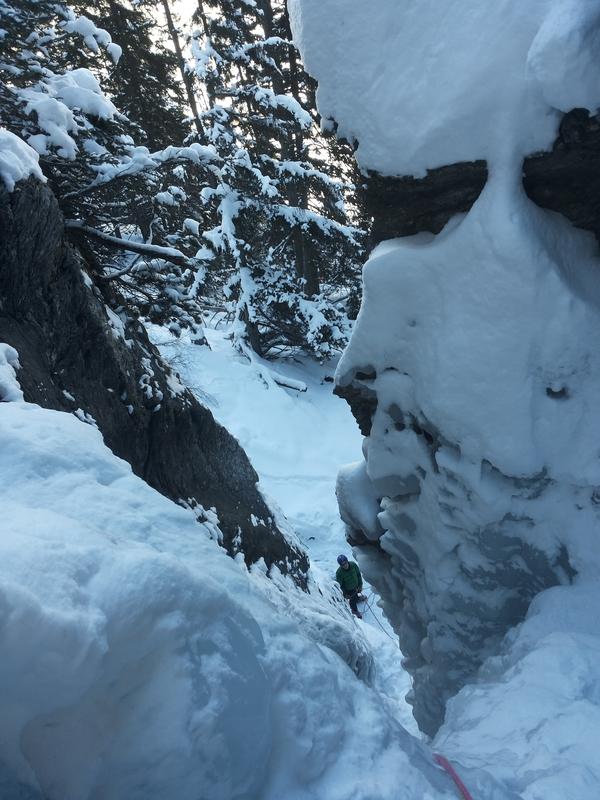 Stage cascade de glace – Again a more!