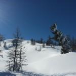 Ski hors piste Montgenèvre - Ptit coup de peau pour chopper la pow