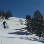 Ski hors piste Montgenèvre - Y a bon