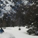 Ski hors piste Montgenèvre - Y a très bon