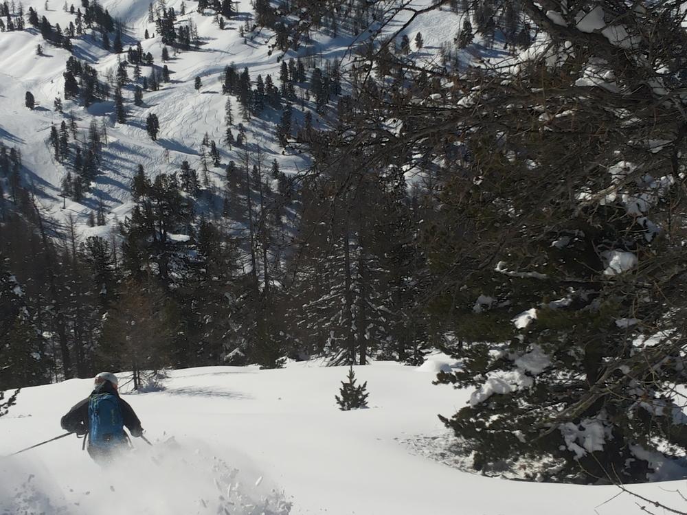 Hors piste Montgenèvre