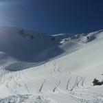 Ski hors piste Montgenèvre - Y en a un qu'a eu du pot