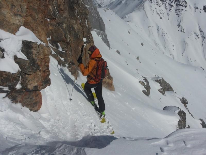 Ski au Pic Beaudouis